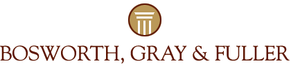 Bosworth, Gray & Fuller logo